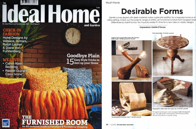 Ideal home and garden July 2015