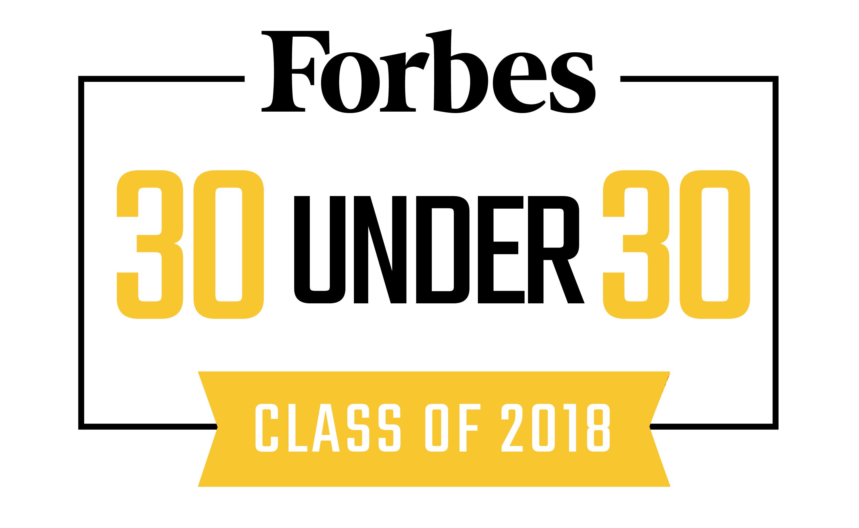 Forbes 30U30 logo 2018.png